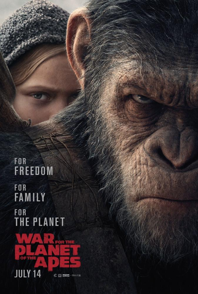 Планета обезьян 3 Война (2017)