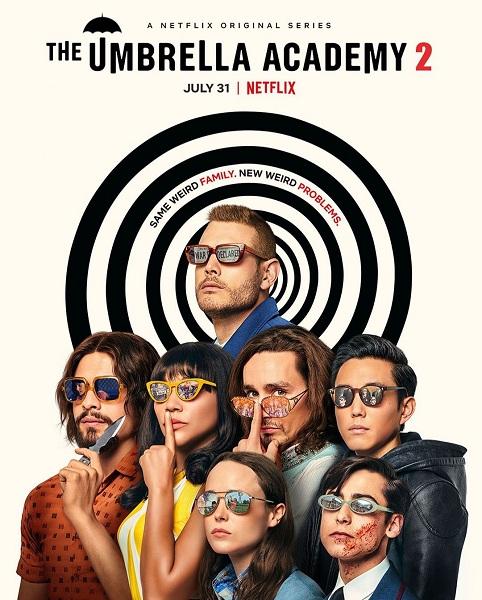 Смотреть онлайн Сериал Академия «Амбрелла» 2 Сезон (2020) в хорошем качестве бесплатно hd 1080p